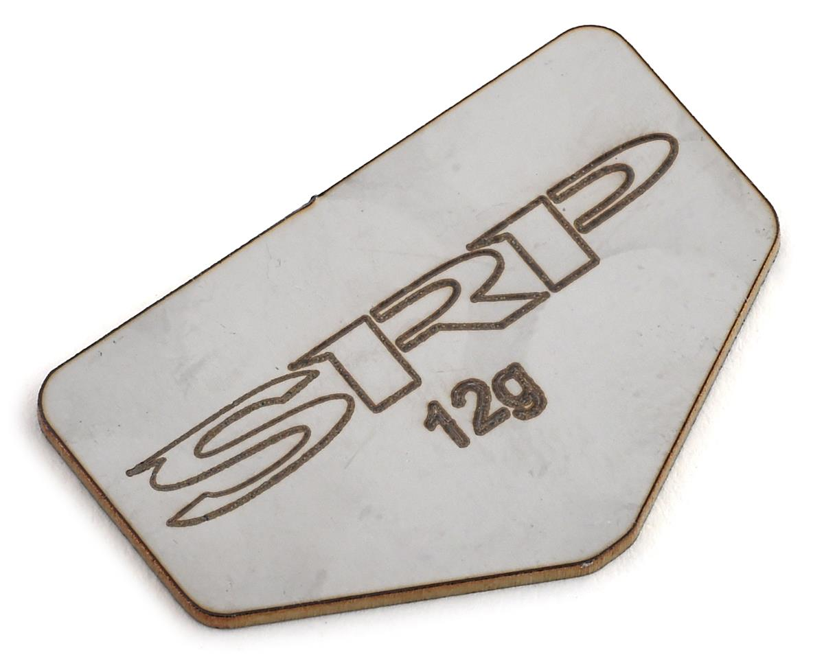 Schaffner Racing Products Cougar Laydown Stainless Steel Chassis Weight (12g)