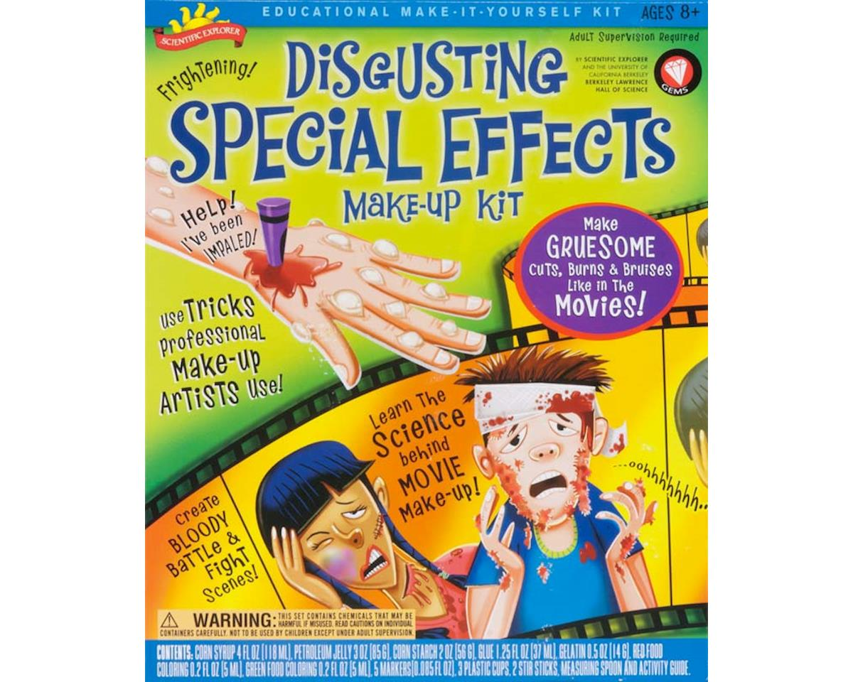 Scientific Explorer  Disgusting Special Effects Make Up Kit