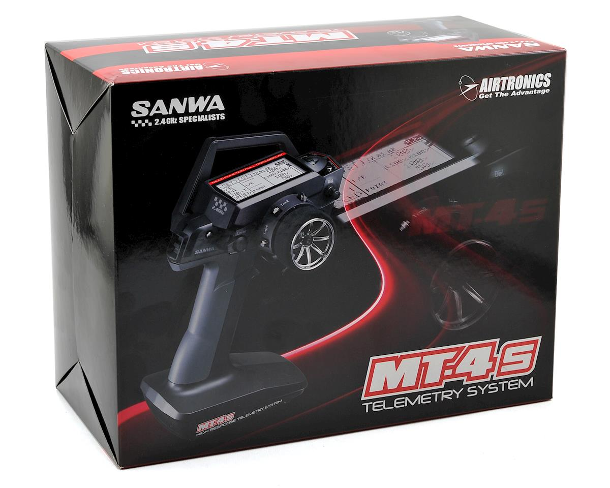 MT-4S Super FH4T 4-Channel 2.4GHz Radio System by Sanwa