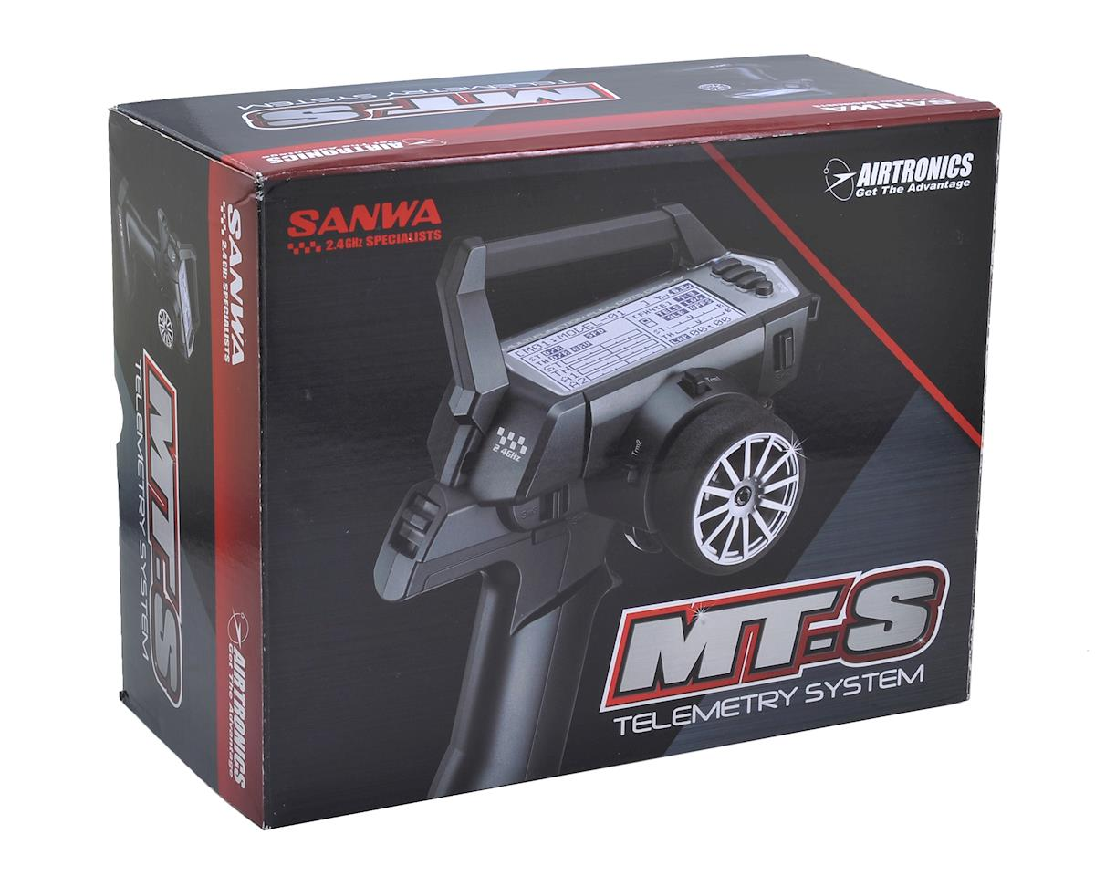 Sanwa MT-S FH4/FH3 2-Channel 2.4GHz Telemetry Radio System
