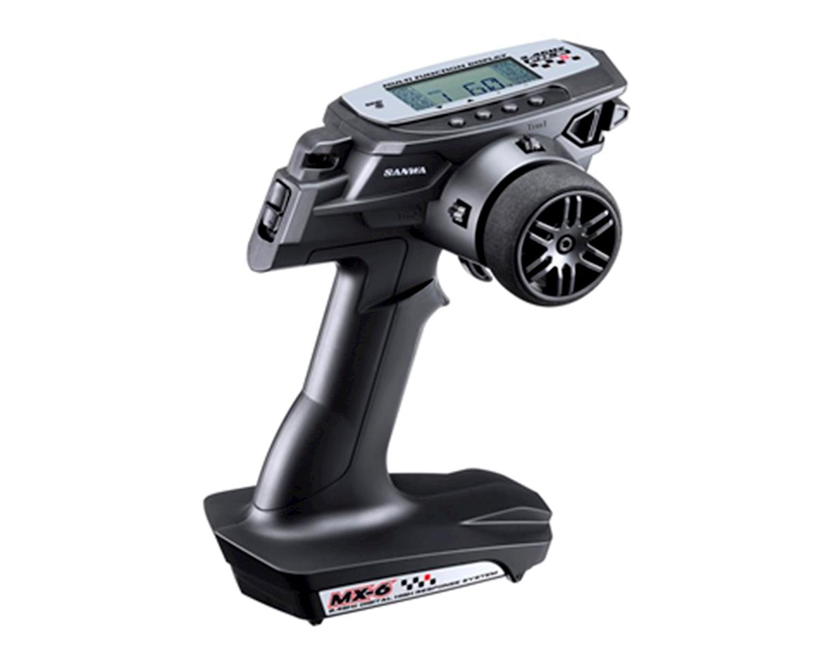 Sanwa/Airtronics MX-6 FH-E 3-Channel 2.4GHz Radio System