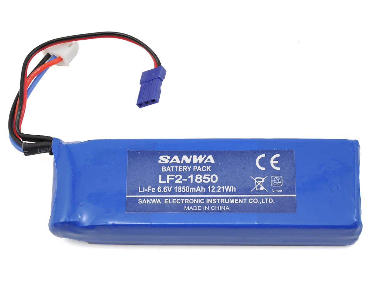 Sanwa LF2-1850 2S LiFe Transmitter Battery (6.6V/1850mAh) (MT4, M12)
