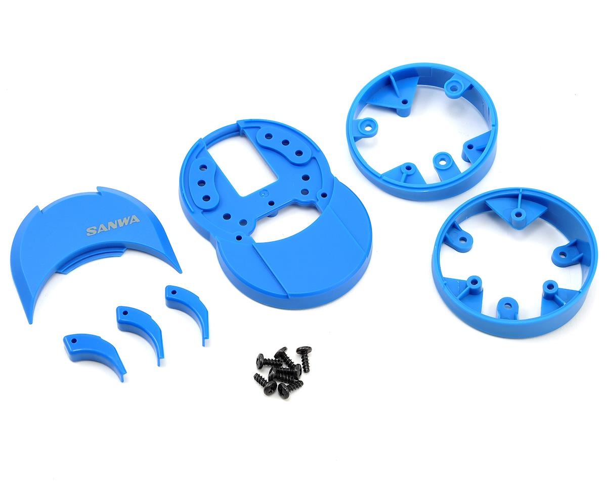 Sanwa/Airtronics M12/M12S Plastic Drop Down (Blue)