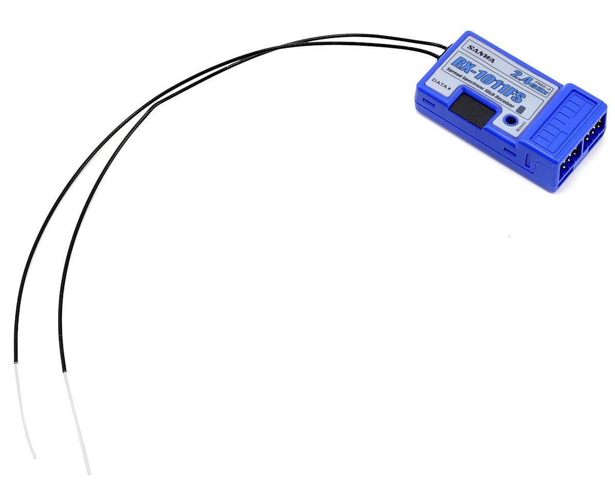 Sanwa RX-1011FS 2.4GHz FHSS-3 10-Channel Receiver