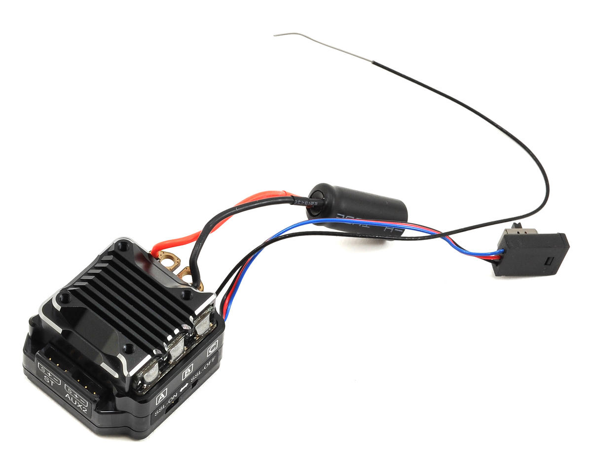 SV-PLUS ZERO Competition Brushless ESC & SSL Telemetry Receiver by Sanwa/Airtronics