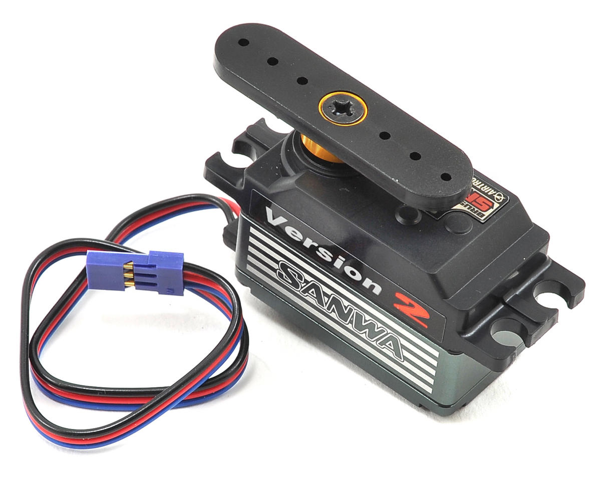 Sanwa SRG-BLS V2 Low Profile Brushless Servo (High Voltage)