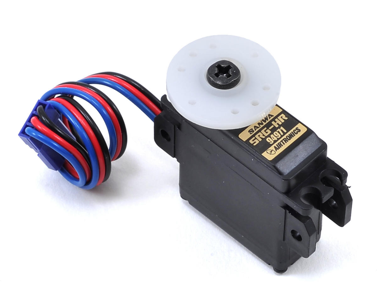 Sanwa/Airtronics SRG-HR Mini Digital Metal Gear Servo (High Voltage)