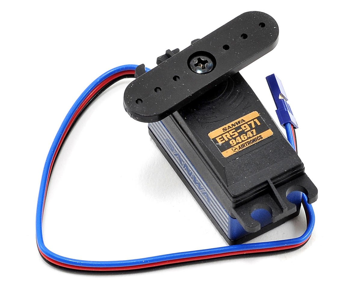 Sanwa ERS-971 Low Profile High Speed Metal Gear Waterproof Digital Servo