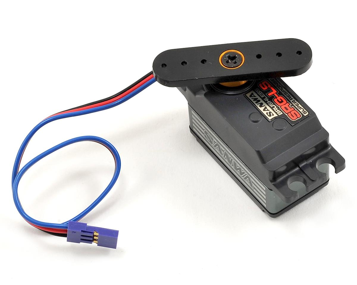 Sanwa SRG-LS Version 2 Low Profile Brushless Servo (High Voltage)
