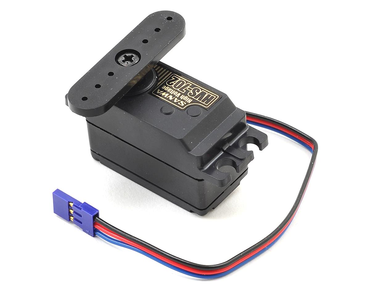 Sanwa/Airtronics HVS-702 Low Profile High Speed Metal Gear Digital Servo