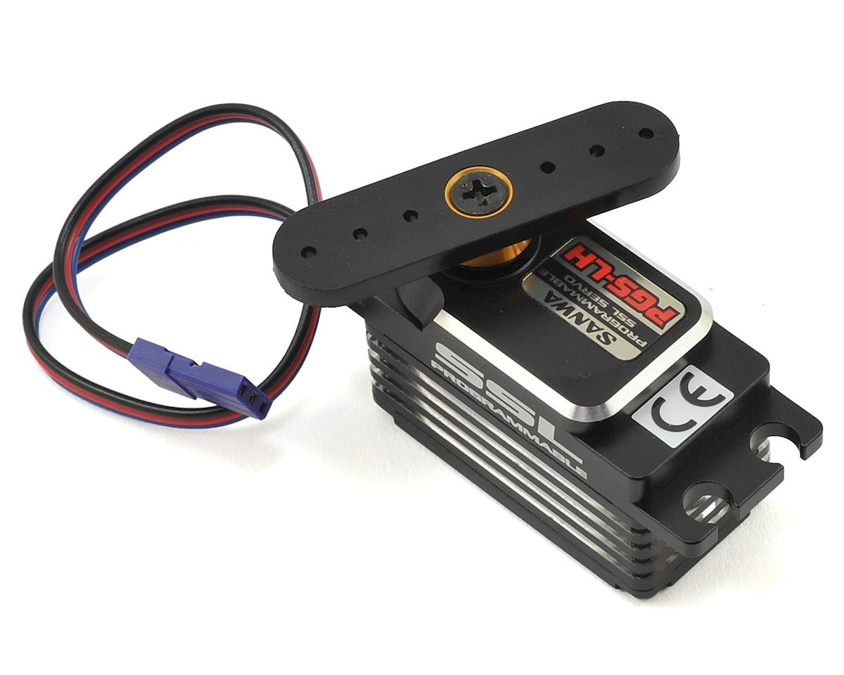 PGS-LH Low Profile Brushless Servo (High Voltage) by Sanwa/Airtronics