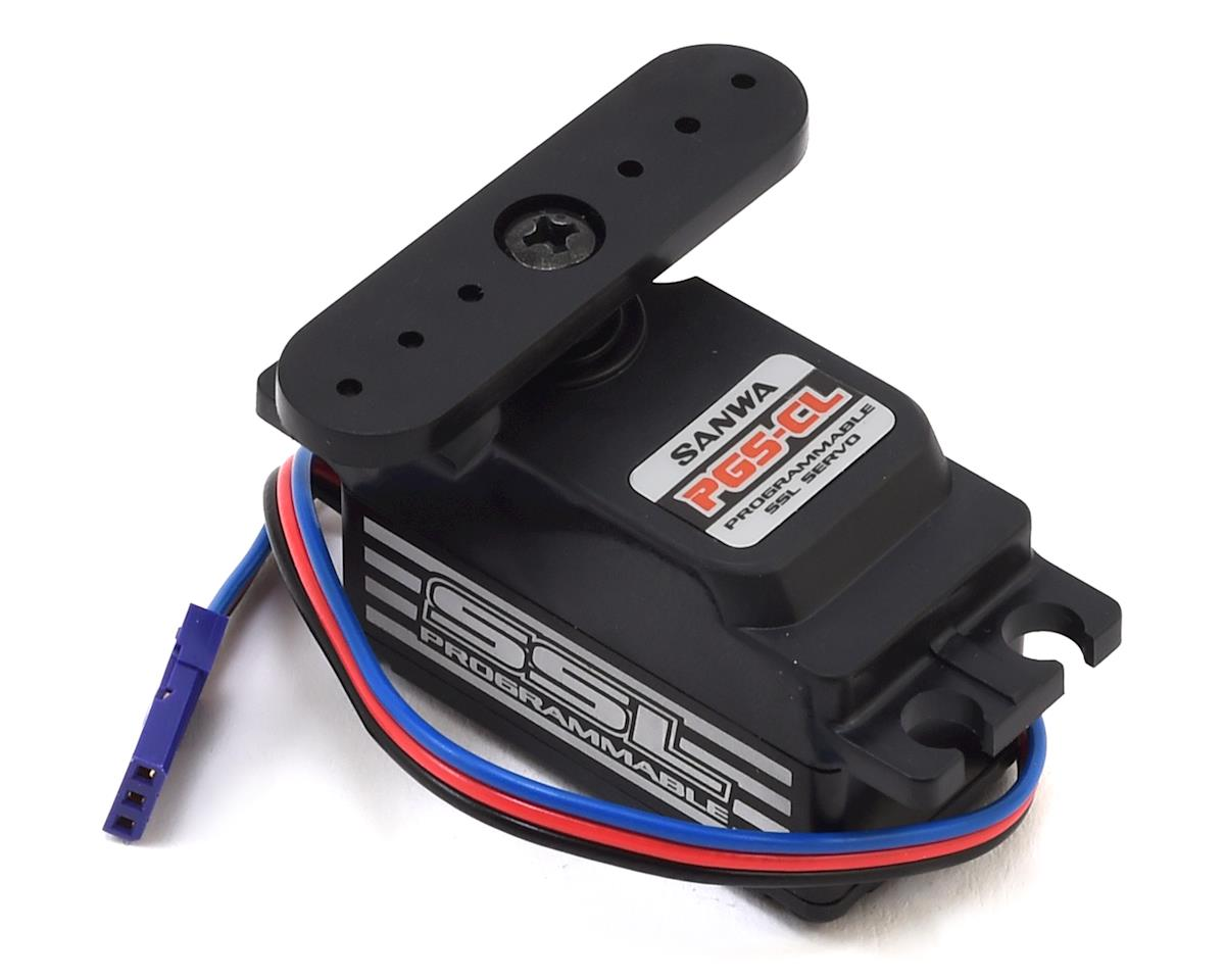 Sanwa/Airtronics PGS-CL Hi-Speed Programmable Low Profile Servo (High Voltage)