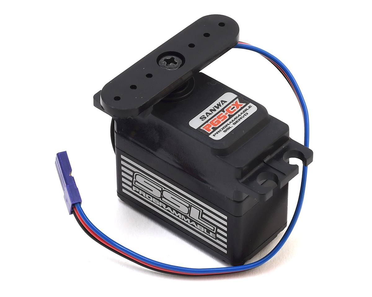 Sanwa/Airtronics PGS-CX Hi-Torque Programmable Servo (High Voltage)