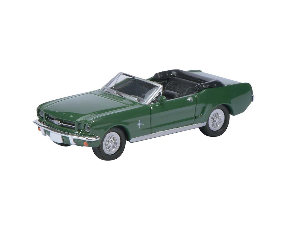 Schuco 2611800 1/87 1964 1/2 Frd Mstng Cabrio Grn w/Black Int