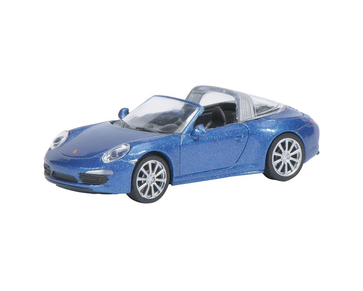 2616500 1/87 Porsche 911 Targa 4S Blue by Schuco