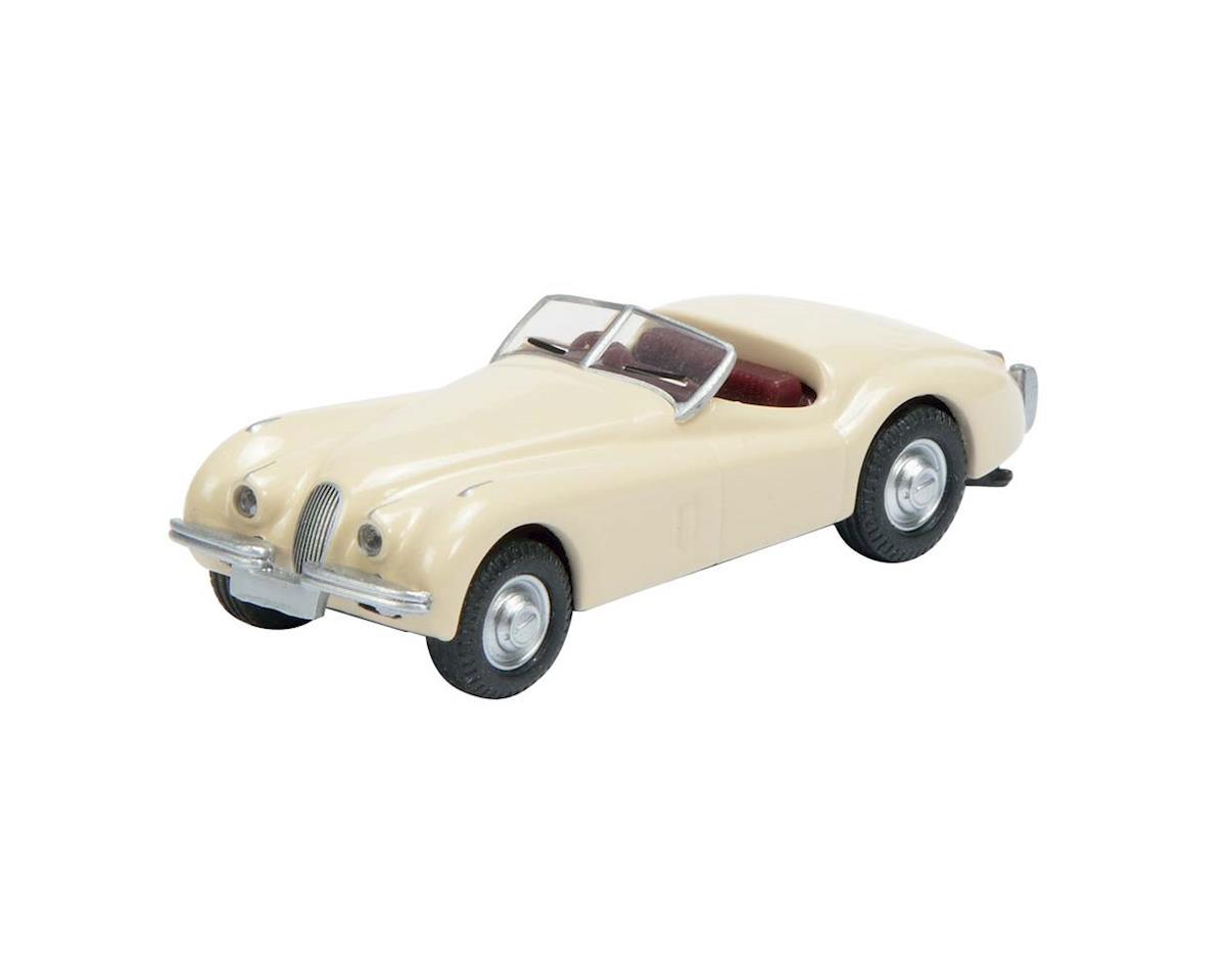 2617300 1/87 Jaguar XK 120 White by Schuco