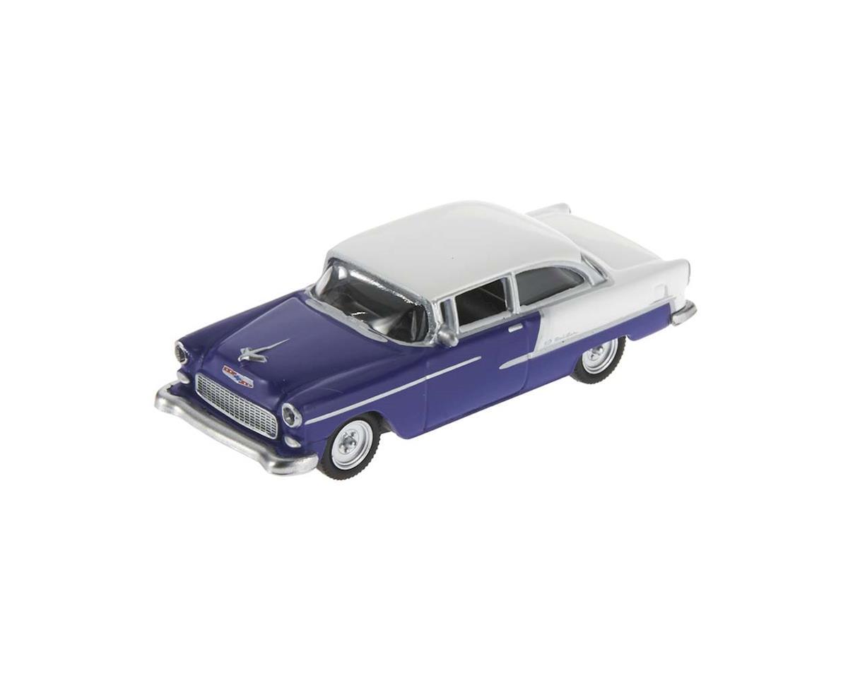 2617505 1/87 1955 Chevy Bel Air Purple/White
