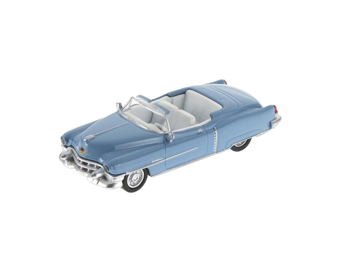 2617601 1/87 1953 Cadllc Eldorado Baby Blue w/White Int