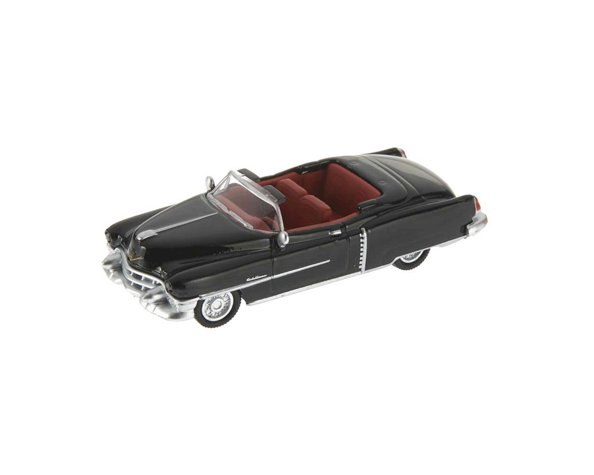 Schuco 1/87 1953 Cadillac Eldorado Black w/Red Interio