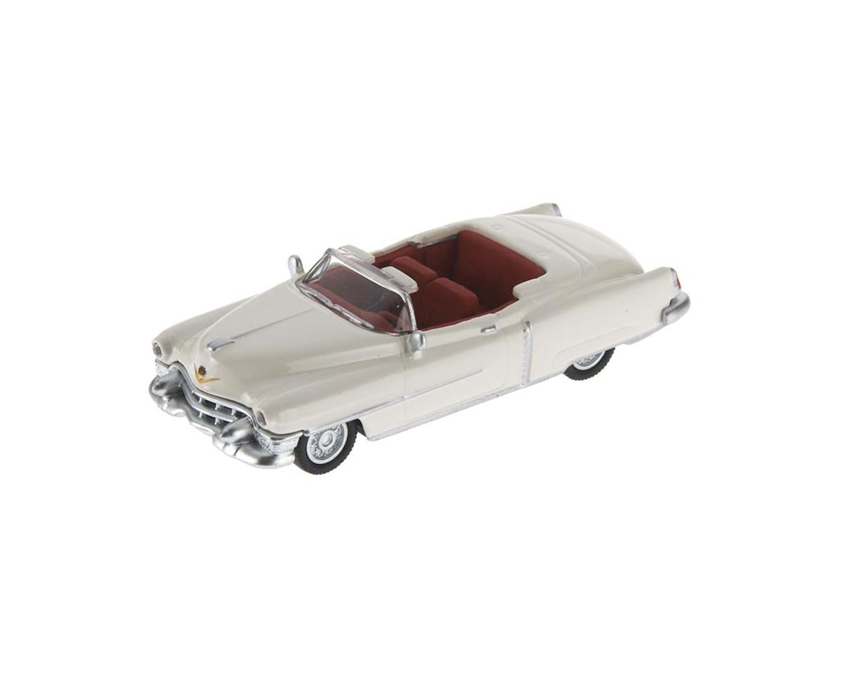 2617605 1/87 1953 Cadillac Eldorado White w/Red Interio