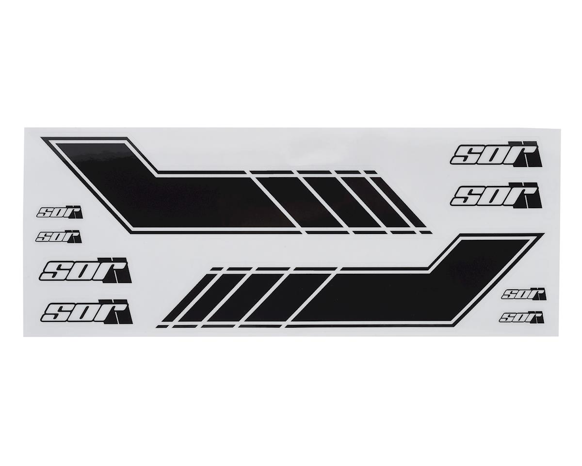 """SOR Graphics Scout Rally Stripe """"Style B"""" Universal Decal Kit (Short) (Black)"""