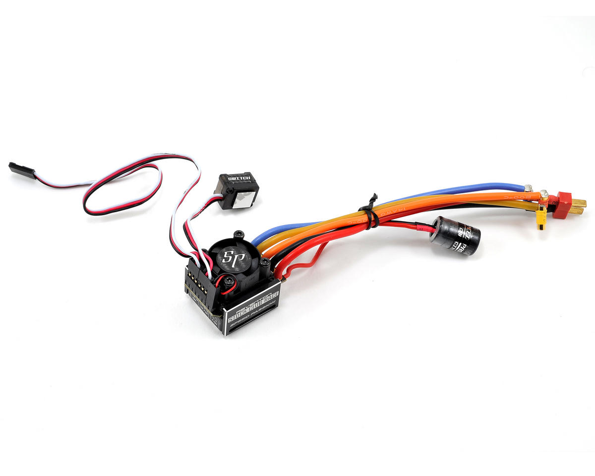 Speed Passion Reventon Stock Club Race Sensored Esc Spa000048 Wire Car Wiring