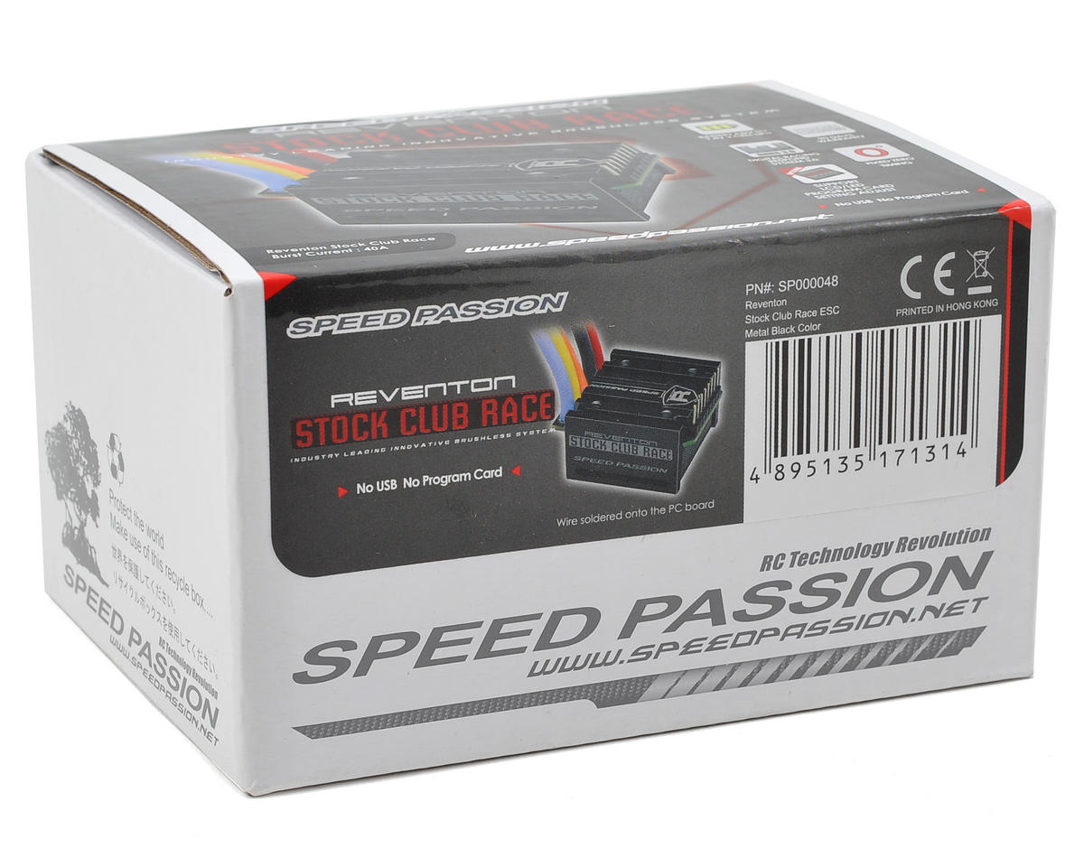Speed Passion Reventon Stock Club Race Sensored ESC