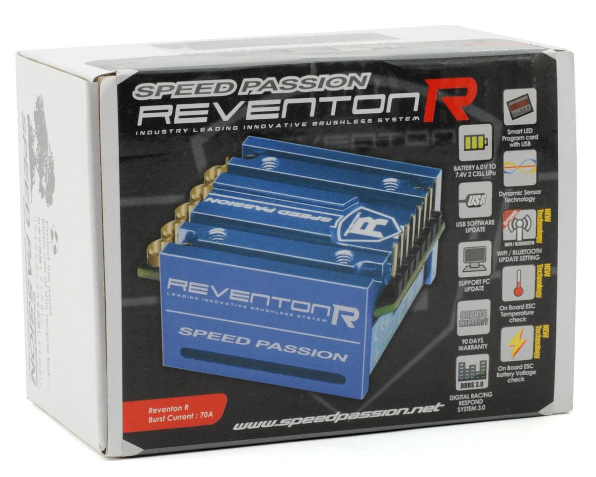 Speed Passion Reventon-R ESC Sensored (Blue)