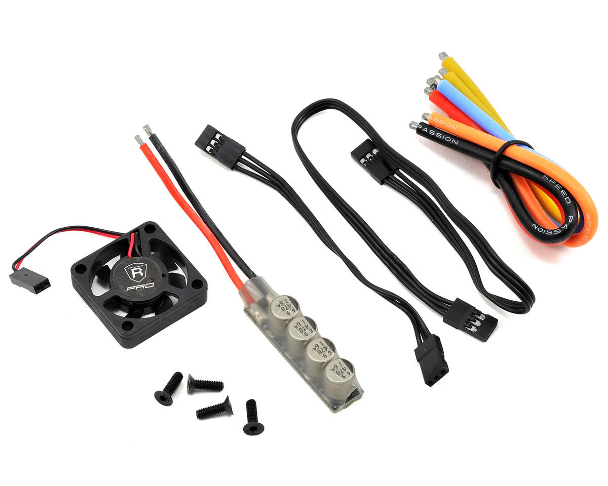 Speed Passion Reventon Pro 1.1 EX Sensored Brushless ESC (Black)