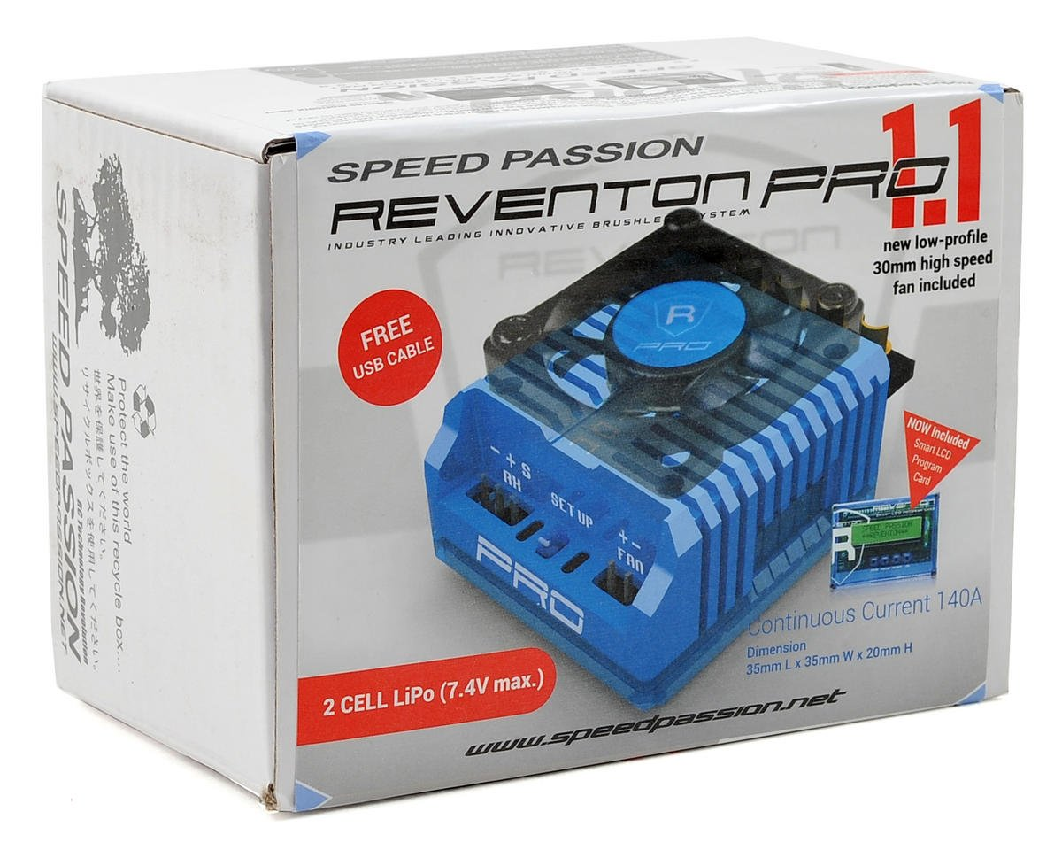 Speed Passion Reventon Pro 1.1 Sensored Brushless ESC (Blue)