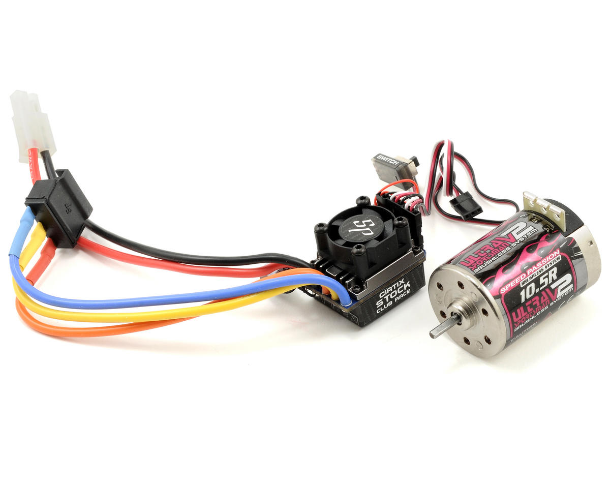 Speed Passion Cirtix Series Stock Club Race Esc And Motor Combo Wire Car Wiring 105t Spa12280105 Cars Trucks Amain Hobbies