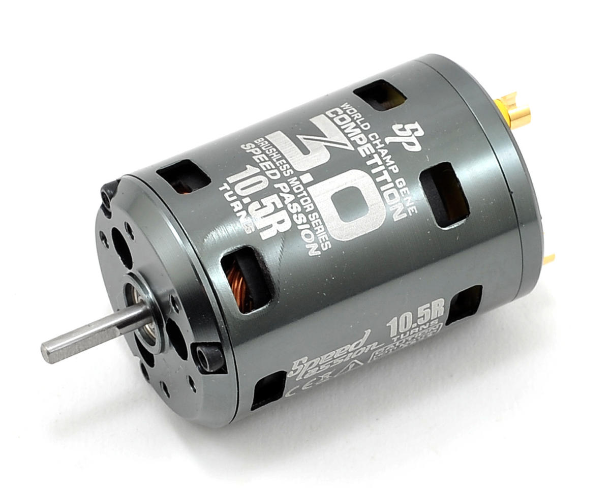 "Speed Passion Competition V3 ""ROAR Spec"" Sensored Brushless Motor (10.5R)"