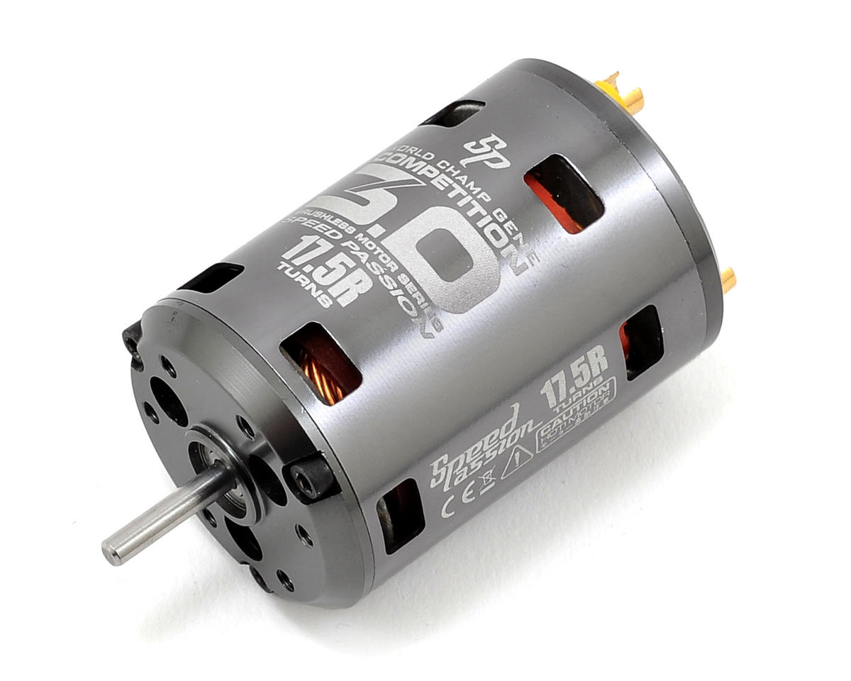 "Speed Passion Competition V3 ""ROAR Spec"" Sensored Brushless Motor (Fixed Timing) (17.5R)"