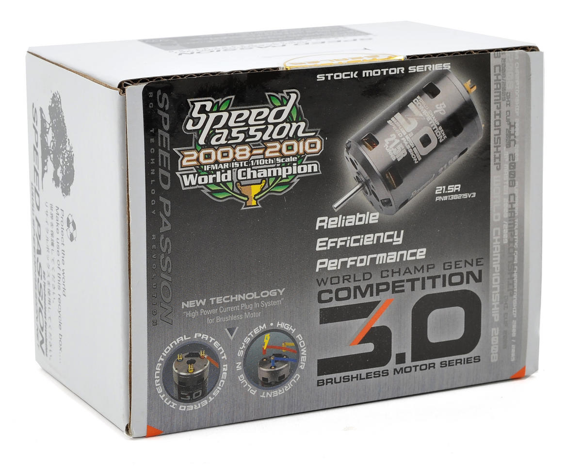 "Speed Passion Competition V3 ""ROAR Spec"" Sensored Brushless Motor (21.5R)"