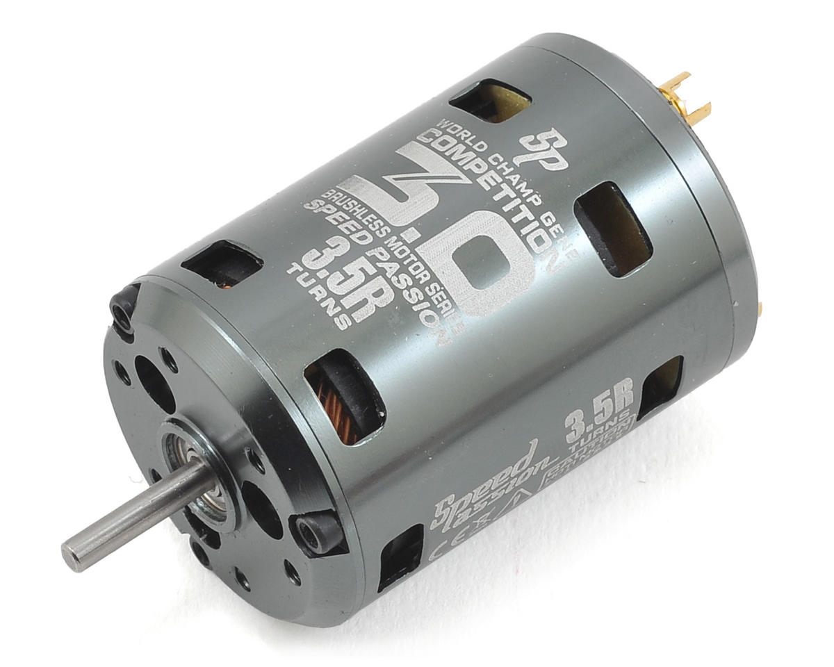 Competition V3 Sensored Brushless Motor (3.5R) by Speed Passion
