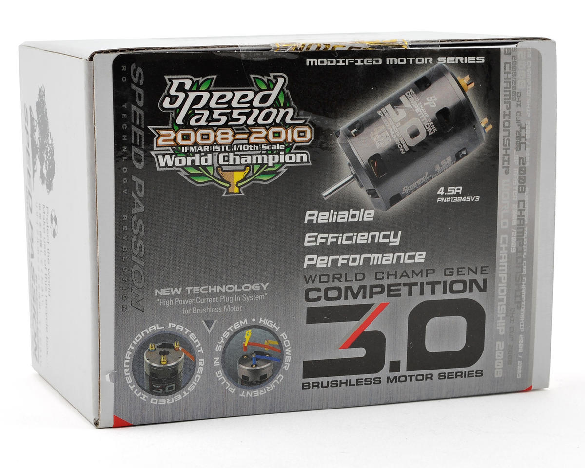 Speed Passion Competition V3 Sensored Brushless Motor (4.5R)