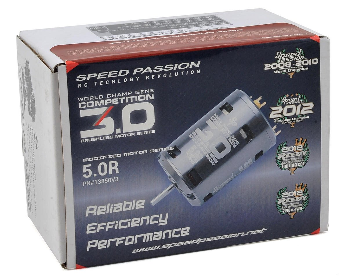 Speed Passion Competition V3 Sensored Brushless Motor (5.0R)