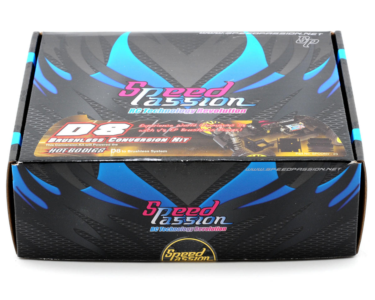 Speed Passion 1/8th Scale Brushless Conversion Kit (808)