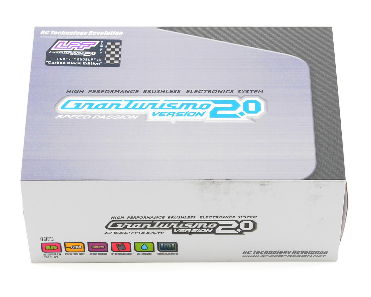 Speed Passion Gran Turismo V2.0 LPF Low Profile Brushless ESC (Carbon Black)