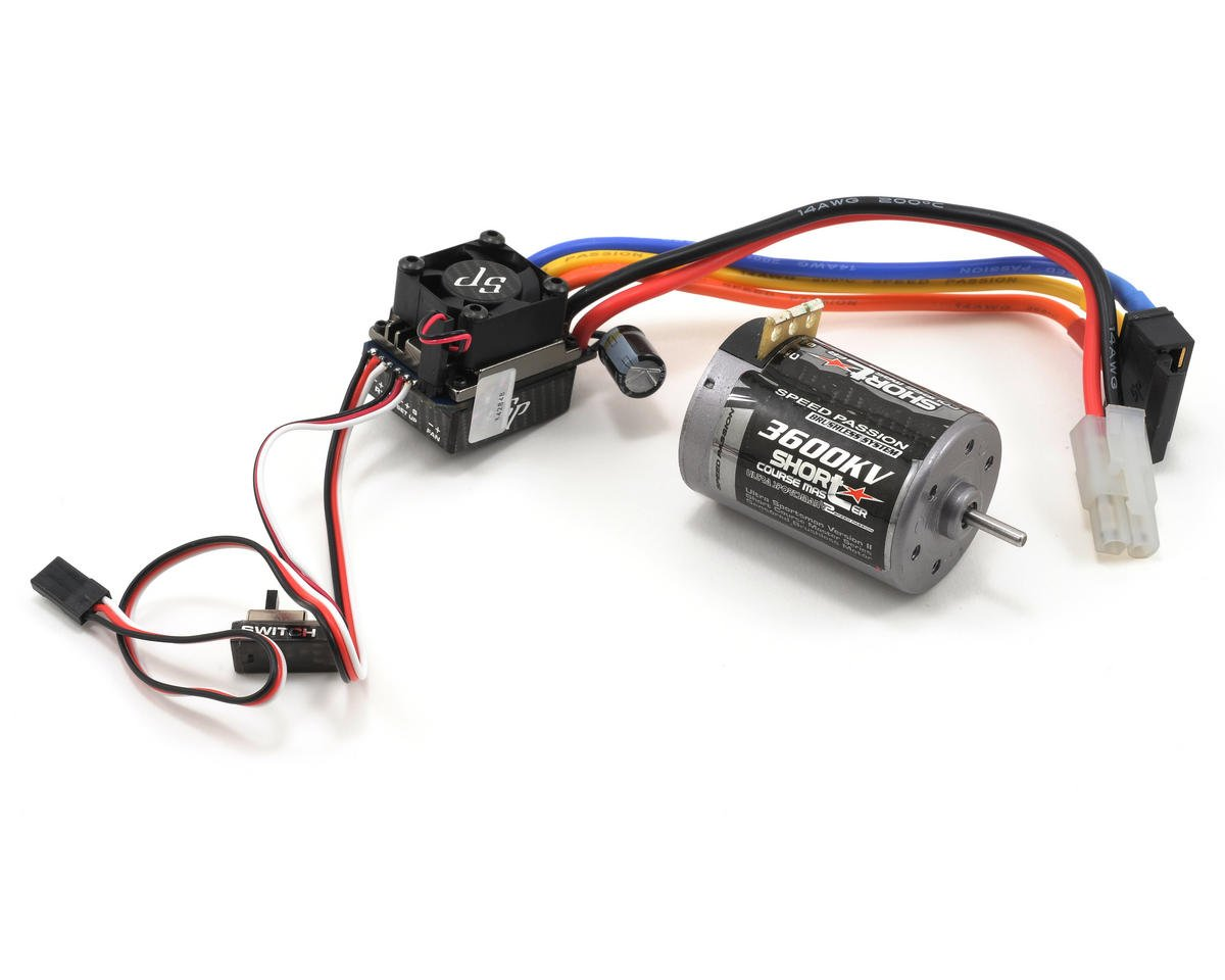 Speed Passion Cirtix Short Course Master Sensored Brushless ESC/Motor Combo (11.5T)