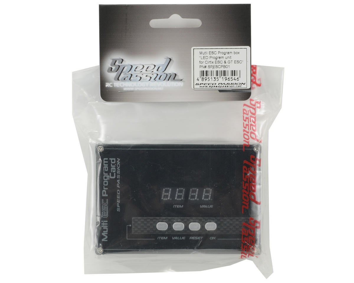 Speed Passion Multi ESC Programing Box