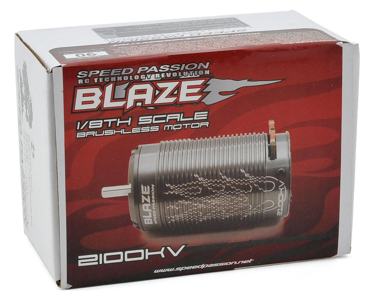 Speed Passion Blaze 1/8th Scale Brushless Motor (4 Pole/2100kV)