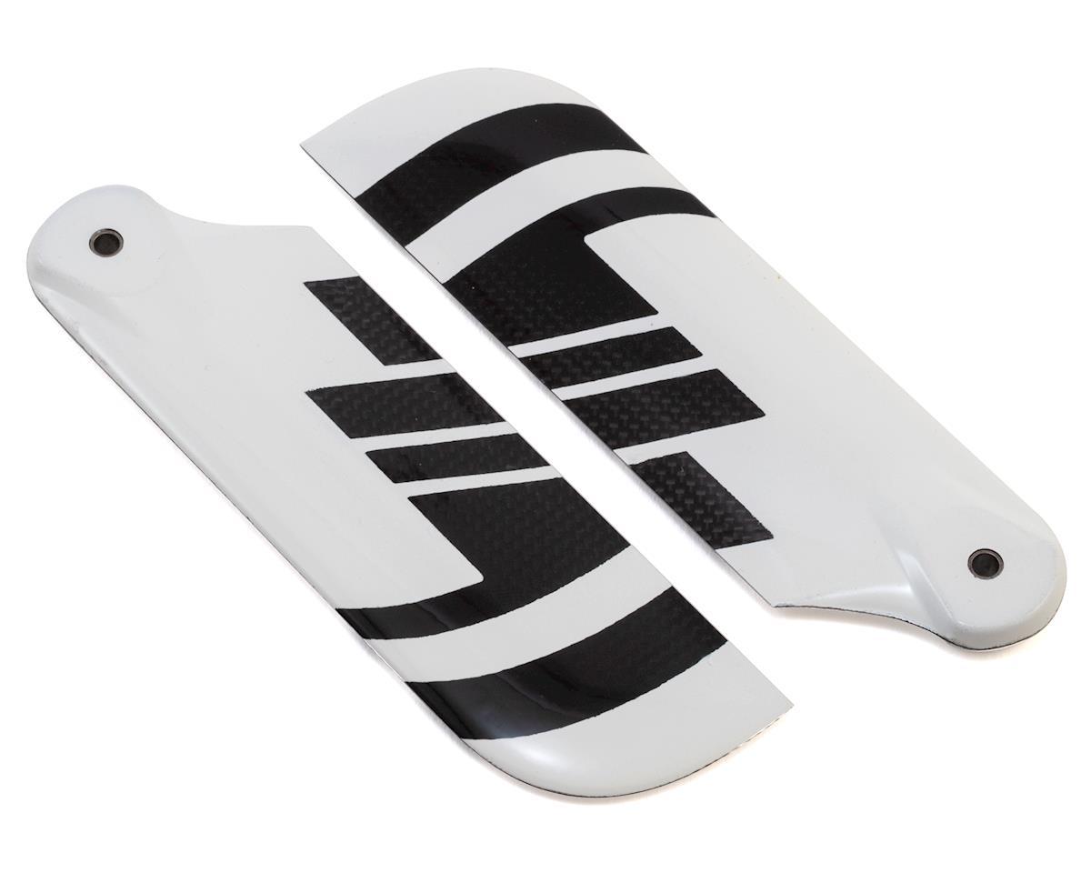 Spin Blades Black Belt 95mm Carbon Fiber Tail Blade Set