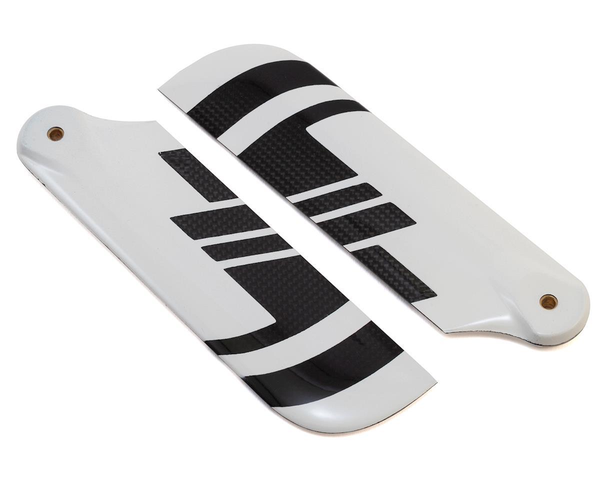 Spin Blades Black Belt 105mm Carbon Fiber Tail Blade Set