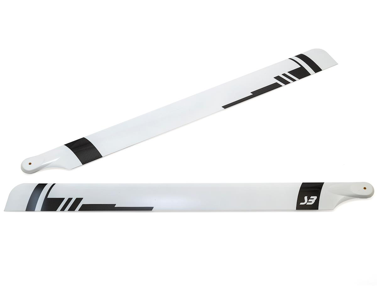 Spin Blades Black Belt 625mm Carbon Fiber Main Blade Set