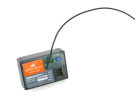 Spektrum RC SR3001 DSM Pro 3CH Receiver: Surface