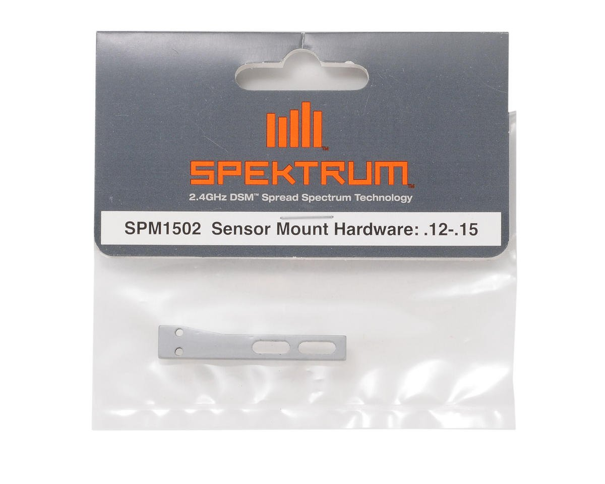 Sensor Mount Hardware: .12-.15 by Spektrum RC