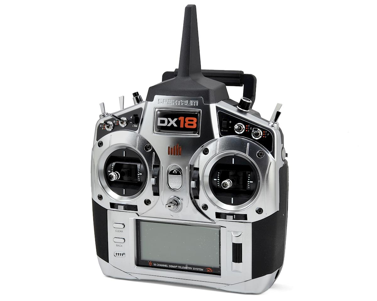 Spektrum RC DX18 Generation 2 18-Channel DSMX Radio System (Mode 2) (No Servos)