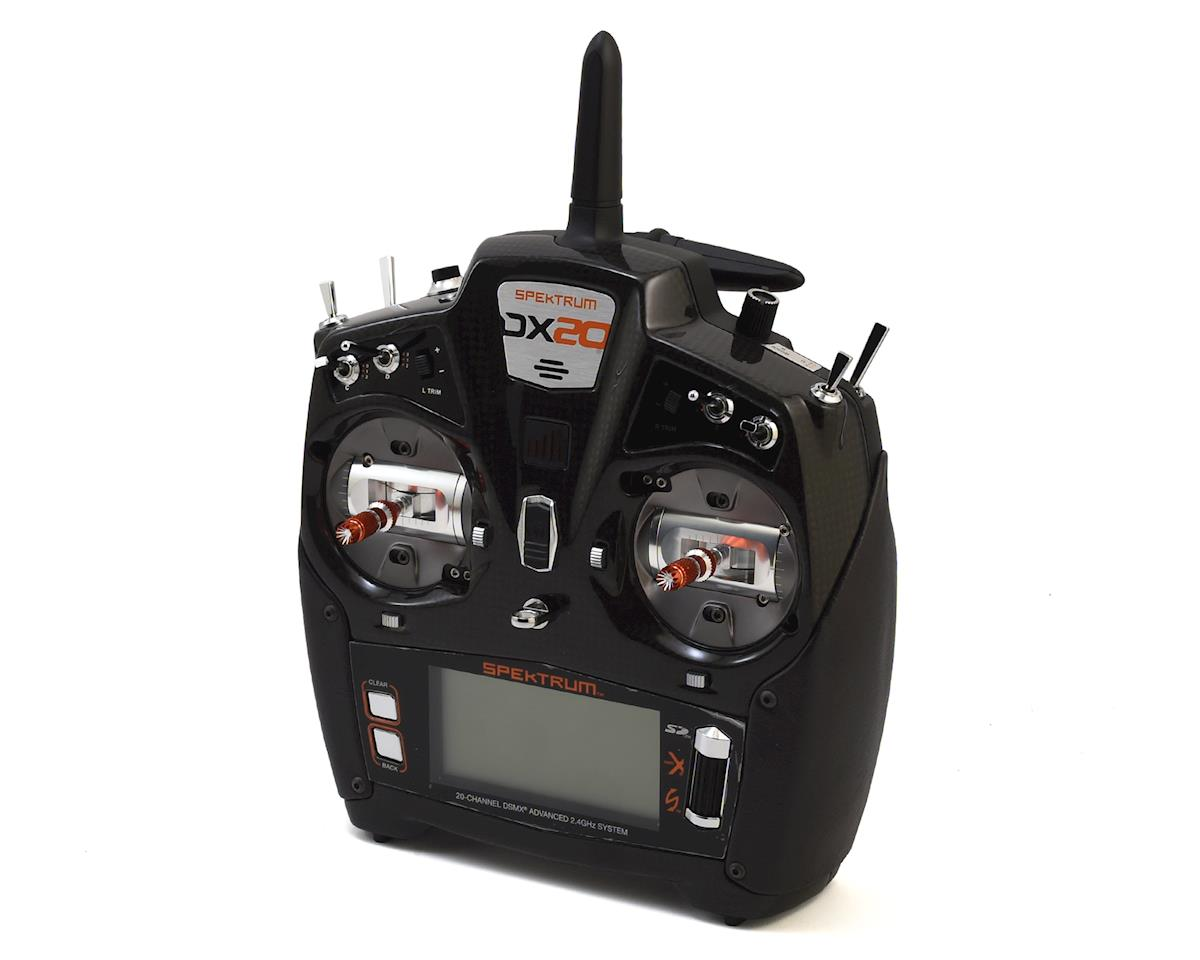 DX20 2.4GHz DSMX 20 Channel Radio System (No Servos) by Spektrum RC
