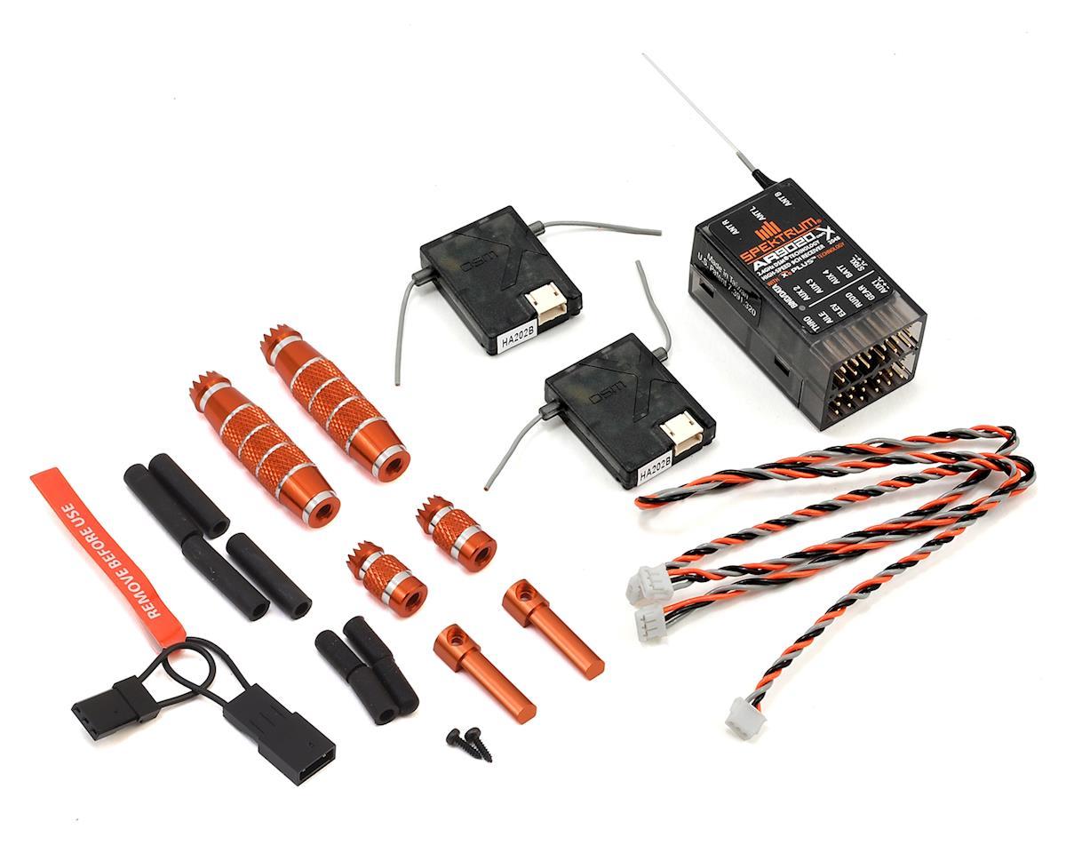Spektrum RC DX20 2 4GHz DSMX 20 Channel Radio System (No Servos) w/AR9020  Receiver